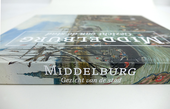 Rug van het Middelburg boek