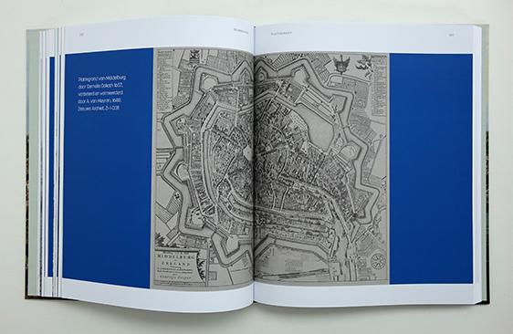 Plattegrond van Middelburg in 1657, Bron: Zeeuws Archief
